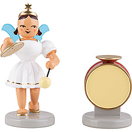 Angel Short Skirt Colored, Kettle Drums - 6,6 cm / 2.6 inch
