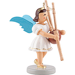Angel Short Skirt with Bagpipe - Colored - 6,6 cm / 2.6 inch
