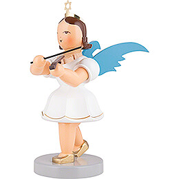 Angel Short Skirt Colored with Violin - 20 cm / 7.9 inch