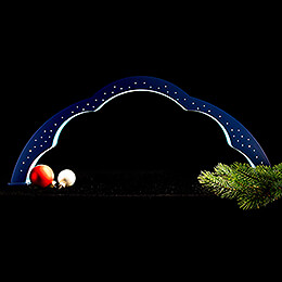 Cloud Arch Colored with LED - 28 cm / 11 inch