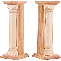 Cloud Columns - 2 Pieces - Natural - 16,5 cm / 6.5 inch