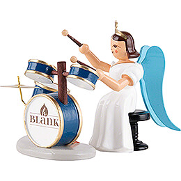 Angel Long Pleated Skirt with Drum Set - Colored - 6,6 cm / 2.6 inch