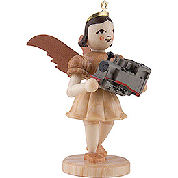 Angel Short Skirt with Locomotive, Natural - 6,6 cm / 2.6 inch