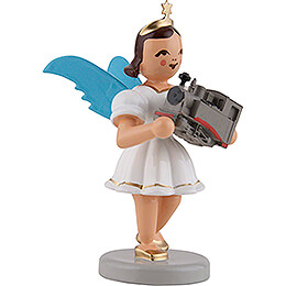 Angel Short Skirt with Locomotive, Colored - 6,6 cm / 2.6 inch