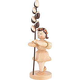Flower Child with Pussy Willow - Natural - 31 cm / 12 inch