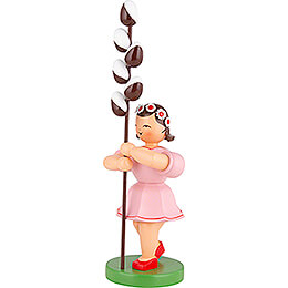 Flower Child with Pussy Willow - 31 cm / 12 inch