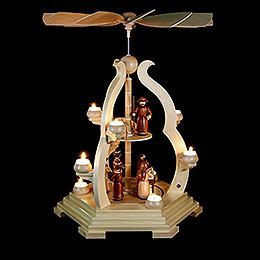 2-stöckige Pyramide Bogendesign - 65 cm