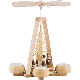 1-Tier Pyramid - Carolers - 24 cm / 9.4 inch