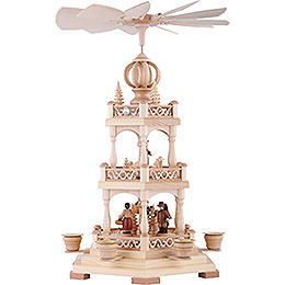 3-Tier Christmas Pyramid - Forest Scene - 45 cm / 18 inch