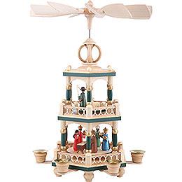 2-stöckige Pyramide Heilige Geschichte - 40 cm