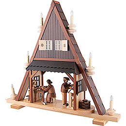 Gable Triangle - Toy Maker - 59x65 cm / 23.2x25.6 inch - 120V