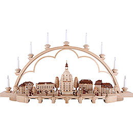 Candle Arch - Old Dresden - 103 cm / 41 inch - 120 V Electr. (US-Standard)