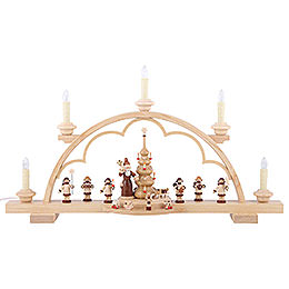 Candle Arch - The Giving - 57 cm / 22 inch - 120 V Electr. (US-Standard)