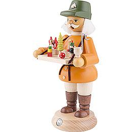 Räuchermännchen Spielwarenverkäufer - 23 cm