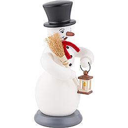 Smoker - Snowman - Colored - 23 cm / 9 inch
