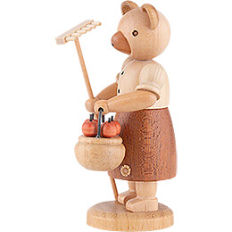 Bear Gardener (female) - 10 cm / 4 inch