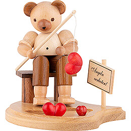 Bear Fisherman - 10 cm / 4 inch