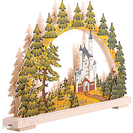 Candle Arch - New Swantone Castle, Summer Time - 43x30 cm / 17x12 inch