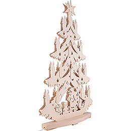 Lichterspitze Unterm Tannenbaum - 38x72 cm