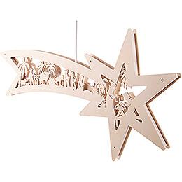 Window Picture - Star - Nativity - 59 cm / 23.2 inch