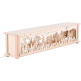 Illuminated Stand Forest for Candle Arches - 70x12x12 cm / 28x5x5 inch