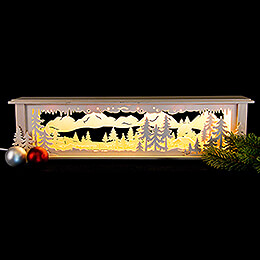Illuminated Stand Forest for Candle Arches - 50x12x10 cm / 20x5x4 inch