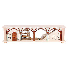 Illuminated Stand Flour Room for Candle Arches - 50x12x10 cm / 20x5x4 inch