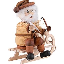 Smoker - Santa on Sled - 17 cm / 6.7 inch