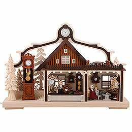 Candle Arch - Clock Maker Workshop - 43x30 cm / 17x11.8 inch