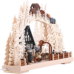 Candle Arch - Half Timber House Dreams - 43x30 cm / 17x11.8 inch