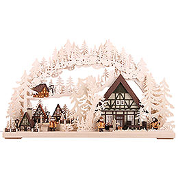 Candle Arch - Little Village - 72x43 cm / 28.3x17 inch