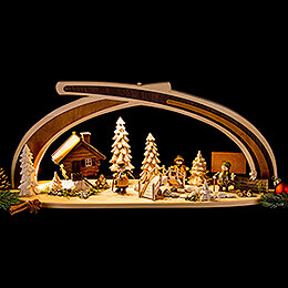 Candle Arch - Solid Wood at the Creek - 59x30 cm / 23x11.8 inch