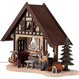 Lichterfachwerkhaus Weihnachtsstube - 17 cm