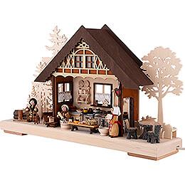 3D Double Arch - Bakery - 43x30 cm / 16.9x11.8 inch
