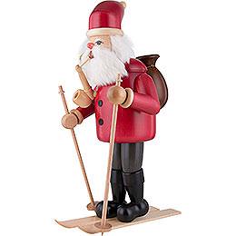 Smoker - Santa Claus with Ski - 52 cm / 20.5 inch