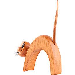 Cat Ocher - Standing - 13 cm / 5.1 inch