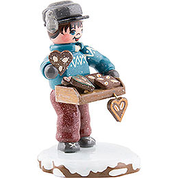 Winter Children Yummy Gingerbread - 6,5 cm / 2,5 inch