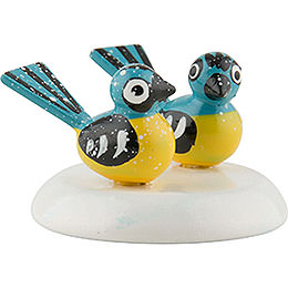 Winter Children Titmouse - Set of Six - 1,5 cm / 0,5 inch