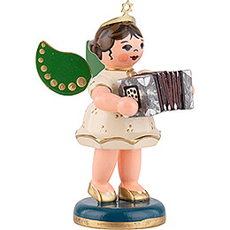 Angel with Concertina - 6,5 cm / 2,5 inch