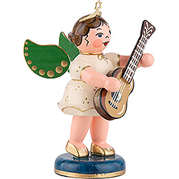 Angel with Classical Guitar - 6,5 cm / 2,5 inch
