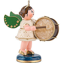 Angel with Drum - 6,5 cm / 2,5 inch