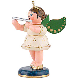 Angel with Transverse Flute - 6,5 cm / 2,5 inch