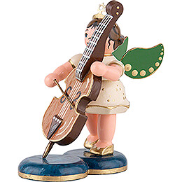Angel with Double Bass - 6,5 cm / 2,5 inch