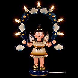 Light Angel with Light Arch - 53 cm / 21 inch