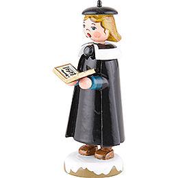 Winter Children Church Singers with Book - 8 cm / 3 inch