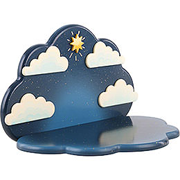 Standing Angel Cloud Hanging - 23x14x14 cm / 9x5,5x5,5 inch