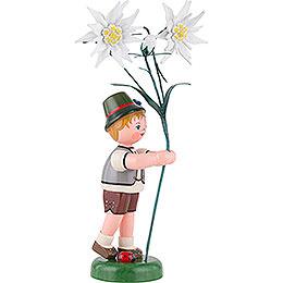 Blumenkind Junge Edelweiß - 24 cm