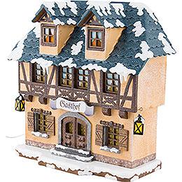 Winter Children Inn Illuminated - 15 cm / 6 inch