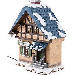 Winter Children Corners Shop Illuminated - 14 cm / 5,5 inch