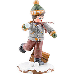 Winter Children Schoolboy - 7 cm / 3 inch